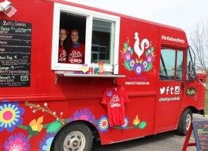 The Betty Crockski Food Truck visits William Mattar, P.C.