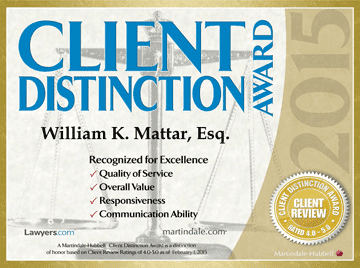 2015 Client Distinction Award