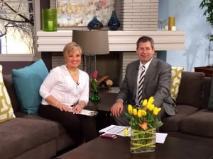 Host Linda Pellegrino with William Mattar