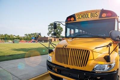 School bus in Buffalo
