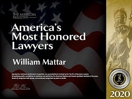 America's Most Honored Lawyers Top 5% 2020