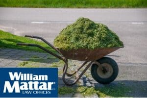 grass clippings motorcycle accidents