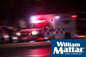 ambulance going to long island motorcycle accident