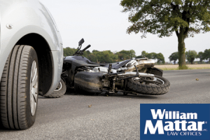 car vs motorcycle accident