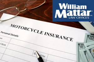motorcycle insurance paperwork