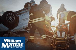 emergency responders on scene of car accident