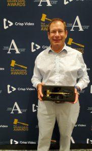 William Mattar with Golden Gavel Award